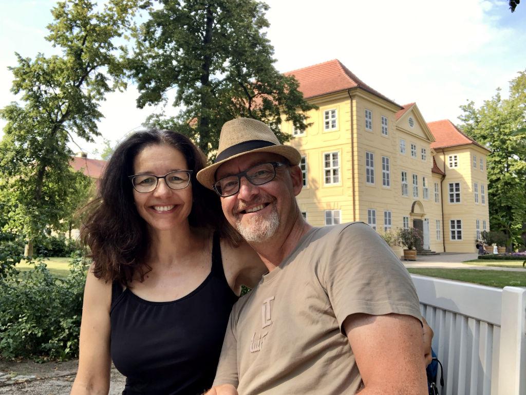 Im Schlossgarten von Mirow