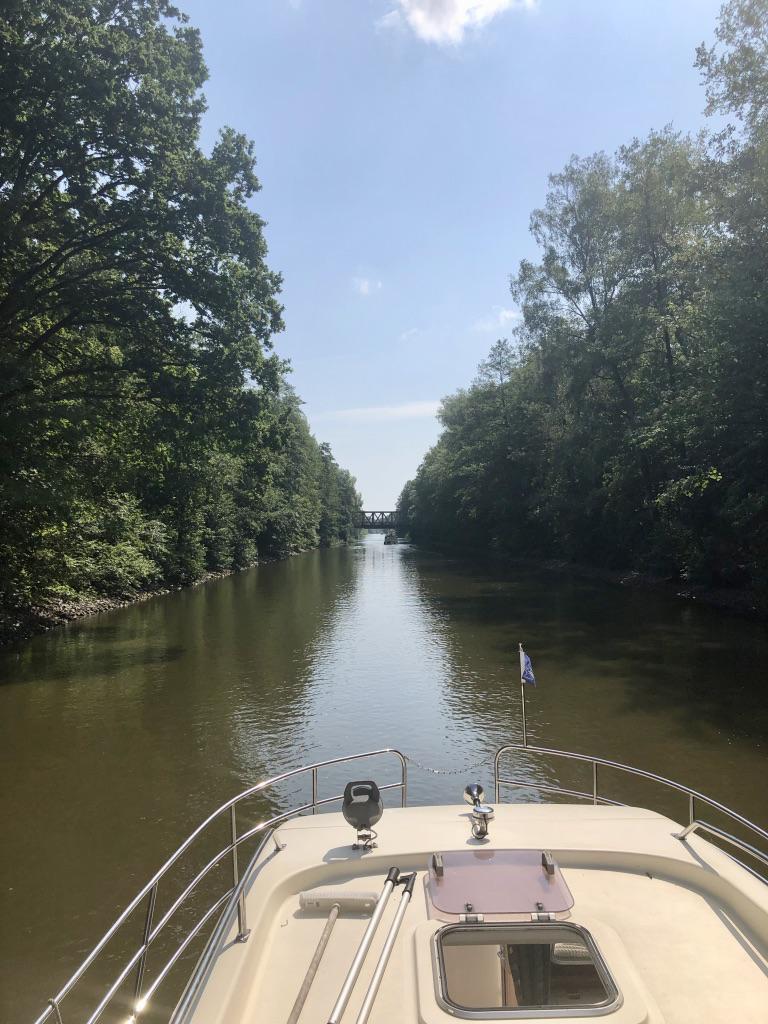 Kanalfahrt Müritz-Havel-Wasserstrasse